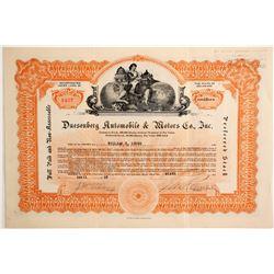 Duesenberg Automobile & Motors Co Inc.  (88462)