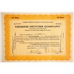 Mercer Motors Co.  (89649)