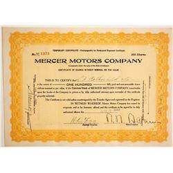 Mercer Motors Co.  (89650)