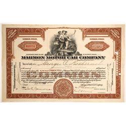 Marmon Motor Car Co.   (88473)
