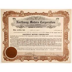Northway Motors Corp  (89605)