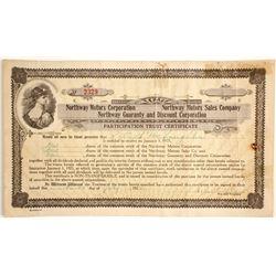 Northway Motors Corp - Participation Trust Certificate  (89609)