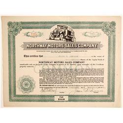 Northway Motors Sales Co  (89606)