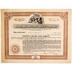 Northway Motors Sales Co.  (89607)