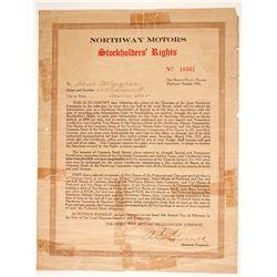 Northway Motors Stockholders Rights  (89610)