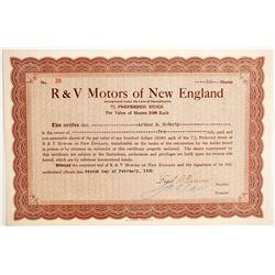 R & V Motors of New England  (89762)