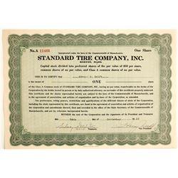 Standard Tire Company, Inc  (89711)