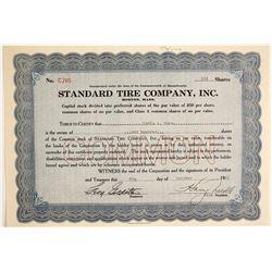 Standard Tire Company, Inc  (89712)
