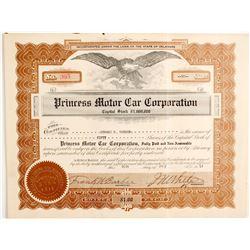 Princess Motor Car Corp  (89757)