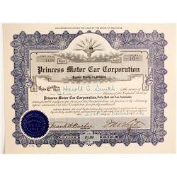 Princess Motor Car Corp  (89758)