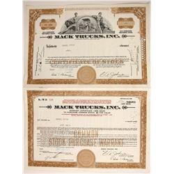 Mack Trucks, Inc  (88443)