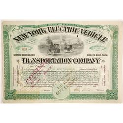 New York Electric Vehicle Transportation Co  (89666)