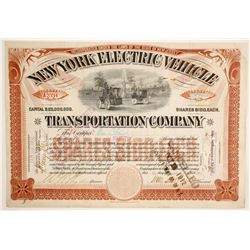 New York Electric Vehicle Transportation Co  (89667)