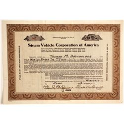 Steam Vehicle Corp of America  (89715)