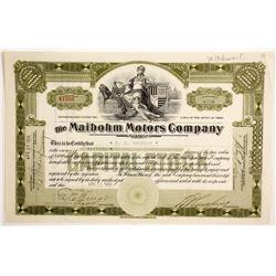 Maibohm Motors Company  (88449)