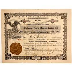 Oklahoma Auto Manufacturing Co.  (89614)