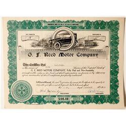 G.F. Reed Motor Company  (89776)