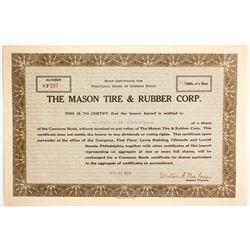 Mason Tire & Rubber Corp,  (88477)