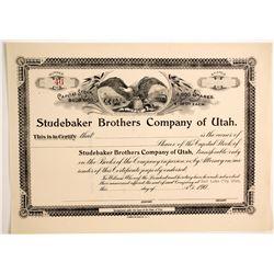 Studebaker Brothers Co. of Utah  (89733)