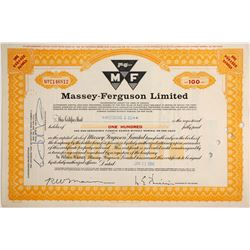 Massey-Ferguson Ltd  (83873)