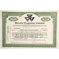 Massey-Ferguson Ltd  (83875)