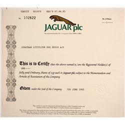Jaguar plc  (88468)