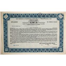 SIMCA  (89707)