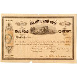 Atlanta and Gulf Rail Road Co  (82934)