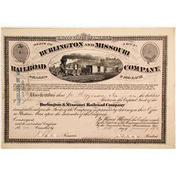 Burlington and Missouri River Railroad Co.  (82916)