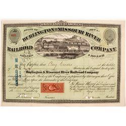 Burlington and Missouri River Railroad Co.  (82913)