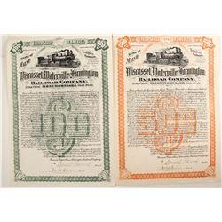 Wiscasset, Waterville and Farmington Railroad Co  (88778)
