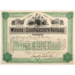 The Winona and Southwestern Railway Co  (88763)