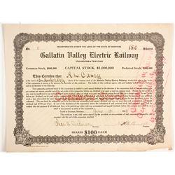 Gallatin Valley Electric Railway  (77267)