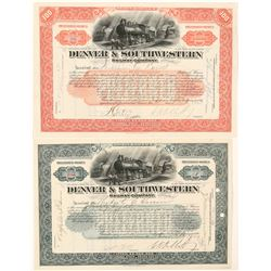 Denver & Southwestern Railway Co.   (91022)