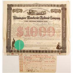 Wilmington & Manchester railroad Co  (88743)
