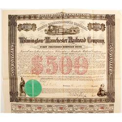 Wilmington & Manchester railroad Co  (88744)