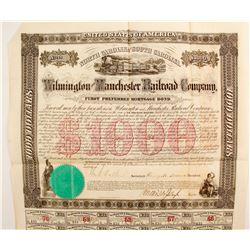 Wilmington & Manchester Railroad Co  (88745)
