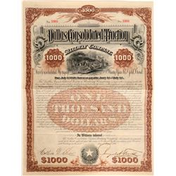 Dallas Consolidated Traction Railway Co Bond  (81839)