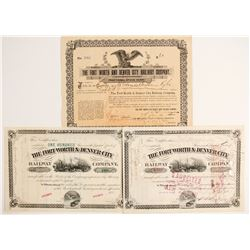 Ft. Worth &  Denver City Railway Company  (81837)