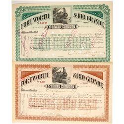 Ft. Worth & Rio Grande Railway Company  (77264)