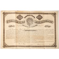 Georgetown Rail Road Co bond  (77273)