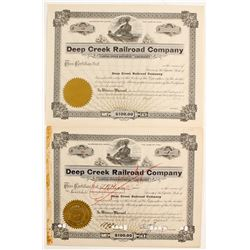 Deep Creek Railroad Company  (91011)