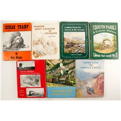 Colorado Railroad Library with Documents (7)  (88569)