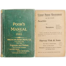 Poor's Manual of Railroads Of the US 1895  (52216)
