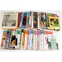 Mining Journals, Rocks & Minerals (Magazines)  (63475)