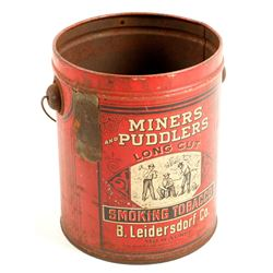 Miners and Pubblers Tobacco Tin  (90248)