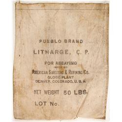 American Smelting & Refining Assay Bag  (89857)