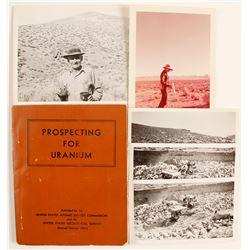 Prospecting for Uranium Book and Period Photos  (89968)