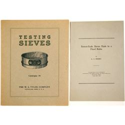 Sieve Brochures (2)  (91284)