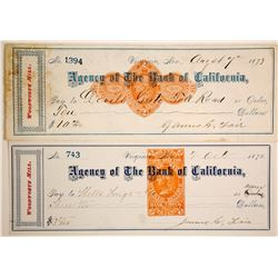 Checks Signed by Fair, Including Devil's Gate  (89966)
